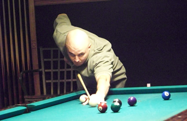 Allen Cocks, 2nd place in the pool tournament