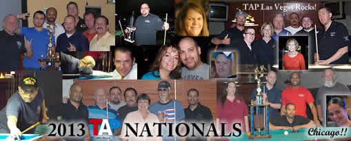 2013 Nationals pool tournament players