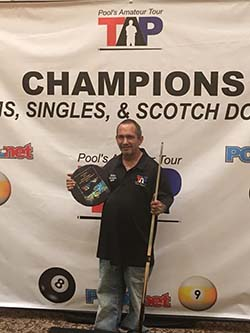 Mike Najarian 8-ball champion