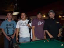 winning players from the 8-ball national sponsorship tournament