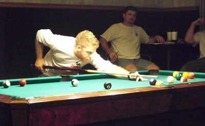 Kelly Seeley, pool player